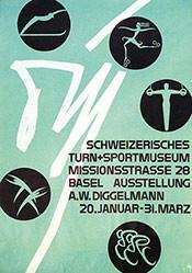 Diggelmann Alex Walter - Schweizerisches Turn- und Sportmuseum Basel