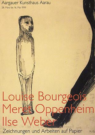 Anonym - Louise Bourgeois / Meret Oppenheim / Ilse Weber