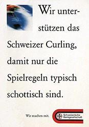 Anonym - Schweizer Curling