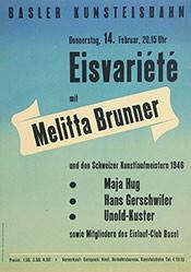 Anonym - Eisvariété mit Melitta Brunner