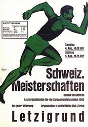 Lips Robert - Leichathletik Schweiz. Meisterschaft