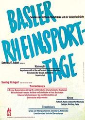 Eidenbenz Atelier - Basler Rheinsporttage