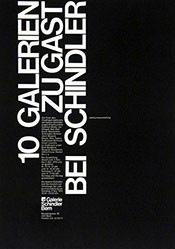 Anonym - 10 Galerien zu Gast bei Schindler