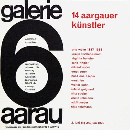 Anonym - 14 Aargauer Künstler
