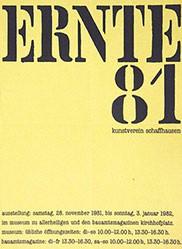 Anonym - Ernte 81