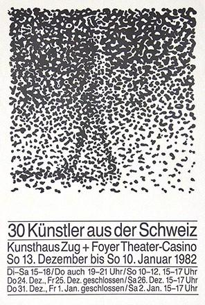 Anonym - 30 Künstler aus der Schweiz