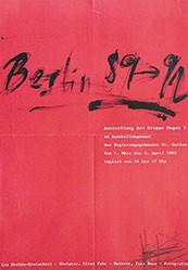Anonym - Berlin 89-92