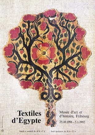 Zbinden Jürg (Foto) - Textiles d'Egypte
