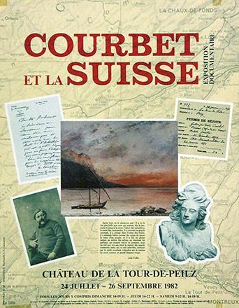 Anonym - Courbet et la Suisse
