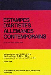 Anonym - Estampes d'Artistes Allemands