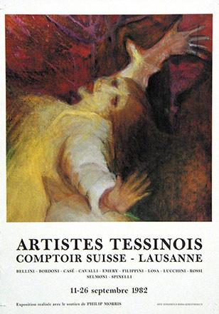 Anonym - Artistes Tessinois
