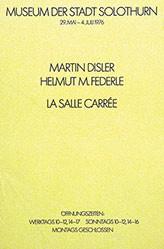 Anonym - Martin Disler / Helmut M. Federle