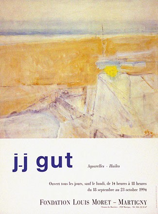 Genoud Jean - J.-J. Gut  - Aquarelles