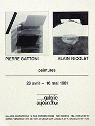 Anonym - Pierre Gattoni / Alain Nicolet