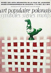 Monogramm K.St. - Art populaire polonais