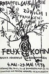 Anonym - Felix Kohn - Rotapfel Galerie Zürich