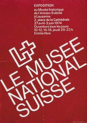 Anonym - Le Musée National Suisse