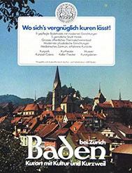 Anonym - Baden bei Zürich Kurort mit Kultur