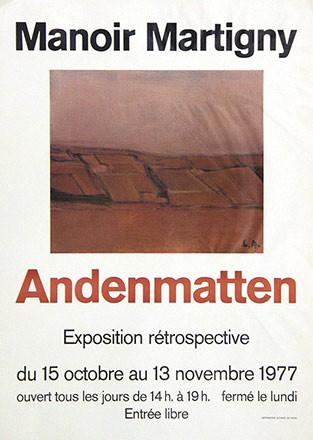 Anonym - Andenmatten