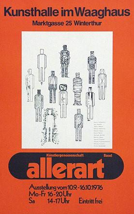 Anonym - Allerart - Kunsthalle im Waaghaus