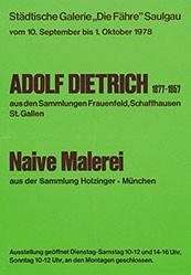 Anonym - Adolf Dietrich - Naive Malerei