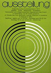 Classe Graphistes - Ausstellung Eidgenössisches Kunststipendium