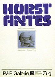 Anonym - Horst Antes - P&P Galerie Zug