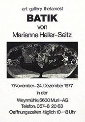 Anonym - Batik von Marianne Heller-Seitz