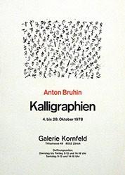 Anonym - Anton Bruhin - Kalligraphien