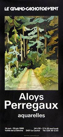 Anonym - Aloys Perregaux - Aquarelles