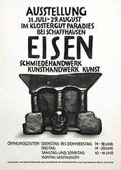 Anonym - Eisen - Schmiedewerk Kunsthandwerk