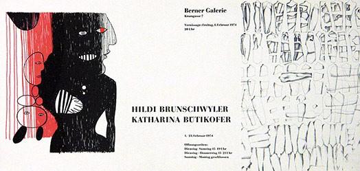 Anonym - Hildi Brunschwyler / Katharina Bütikofer