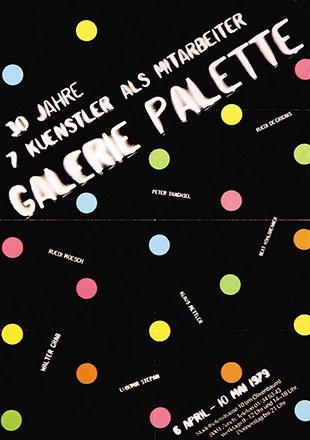 Anonym - 30 Jahre Galerie Palette