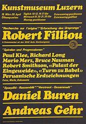 Ammann-Husner J. - Robert Filliou / Daniel Buren / Andreas Gehr