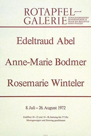 Anonym - Abel / Bodmer / Winteler