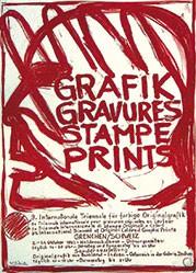 Monogramm W.O.L. - Grafik Gravures Stampe Prints