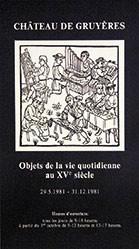 Anonym - Objets de la vie quotidicenne au XVe siècle