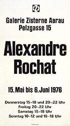 Anonym - Alexandre Rochat - Galerie Zisterne