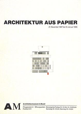 Anonym - Archiketur aus Papier