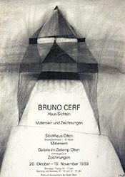 Anonym - Bruno Cerf - Haus-Sichten