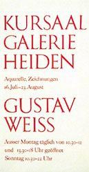 Anonym - Gustav Weiss - Kursaal Galerie Heiden