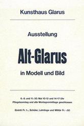 Anonym - Alt-Glarus in Modell und Bild