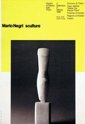 Monguzzi Bruno - Mario Negri - Sculture