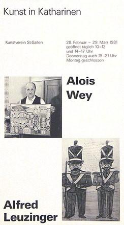 Anonym - Alois Wey / Alfred Leuzinger