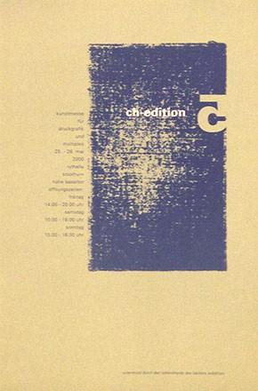 Anonym - CH Edition - Kunstmesse für Druckgrafik