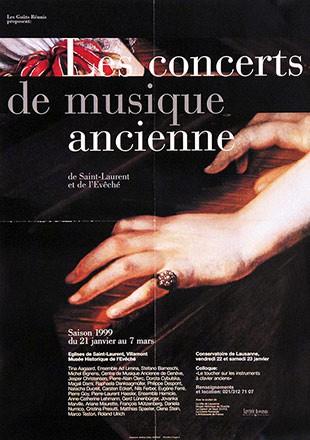 Gétaz Matthieu - Les concerts de musique ancienne