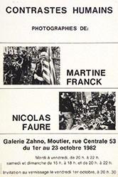 Anonym - Martine Franck / Nicolas Faure