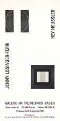 Anonym - Jenny Losinger-Ferri / Hey Heussler