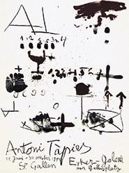 Tàpies Antoni - Antoni Tàpies - Erker Galerie