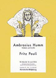 Anonym - Ambrosius Humm / Fritz Pauli